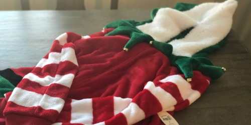 Get in the Christmas Spirit! Elf Hooded Union Suit Just $19.98 at Walmart.com