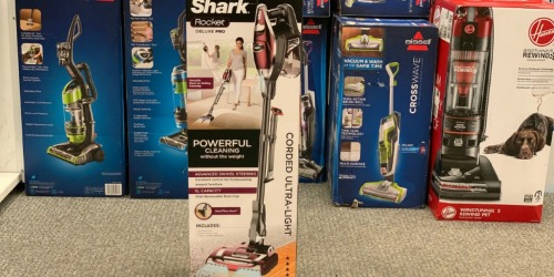 Shark Rocket Ultra Light Vacuum Just $99.44 Shipped (Regularly $300) + Get $30 Kohl's Cash