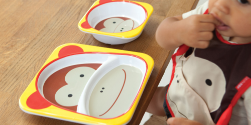 Skip Hop Zoo Melamine Plate & Bowl Set Only $6.97 Shipped + More Hot Deals