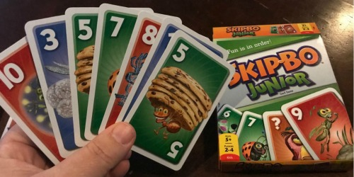Skip-Bo Junior Card Game Only $3.76 (Regularly $8) – Great Stocking Stuffer Idea