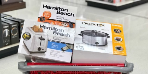 Target: Small Kitchen Appliances Only $10 (Crock-Pot, George Foreman & More)