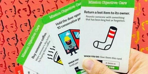 Sneaky Cards Card Game Only $6.87 Shipped (Interactive Scavenger Hunt That Spreads Joy!)