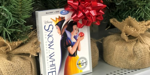 Amazon: Disney Snow White and The Seven Dwarfs Blu-ray + DVD + Digital HD Only $14.75 Shipped