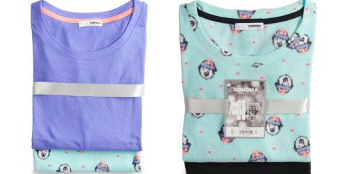 Kohl's: SONOMA Women's 2-Piece Pajama Sets Only $8.49 (Regularly $30)