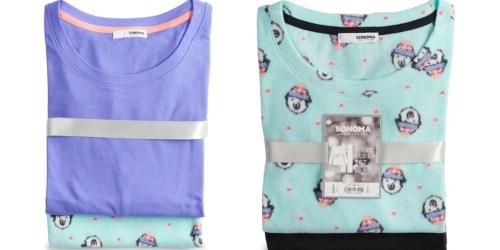 Kohl's: SONOMA Women's 2-Piece Pajama Sets Only $8.49 (Regularly $30)