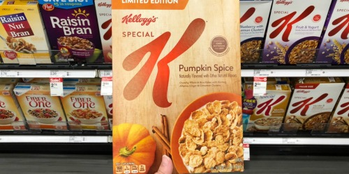 Special K Cereal Only $1.10 Each After Target Gift Card