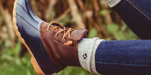 Sperry Women's Saltwater Rubber Duck Boots $47.98 Shipped (Regularly $100)
