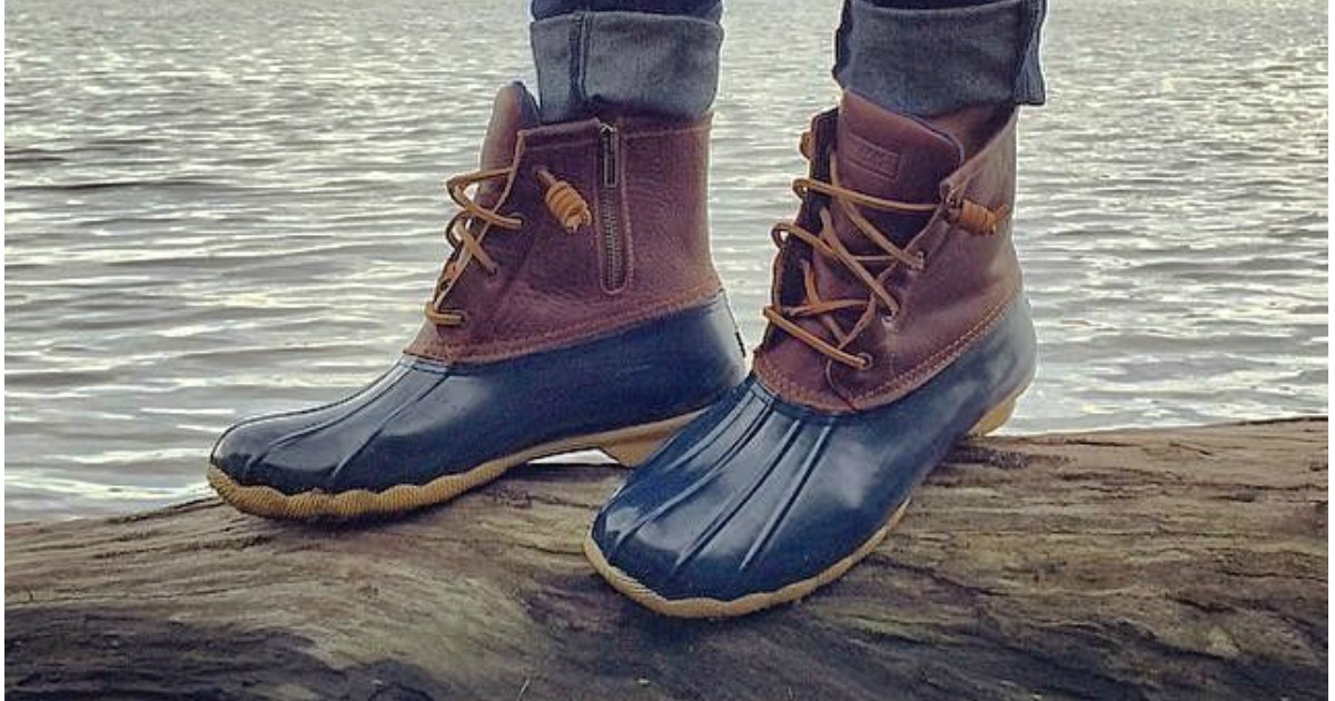Sperry Top-Sider Saltwater Duck Boots