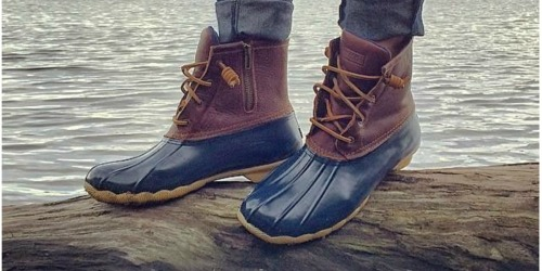 Sperry Top-Sider Saltwater Duck Boots as Low as $57.97 Shipped (Regularly $120)