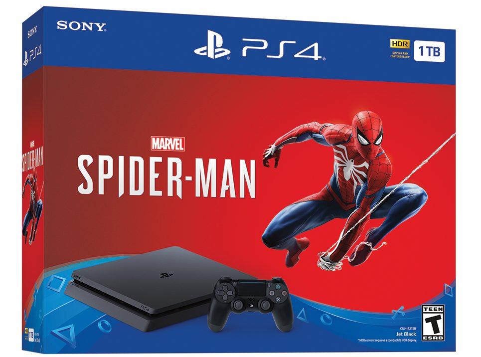 Spider-Man PS4 bundle at Walmart