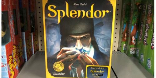 Splendor Strategy Board Game Just $19 (Regularly $40) – Best Price