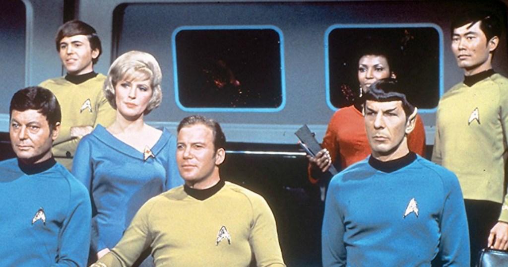 Best Buy: Up to 55% Off Star Trek TV Series on DVD + Free