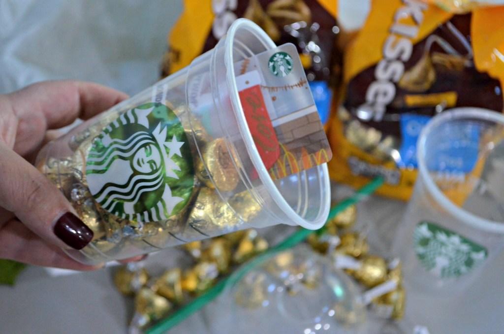 Starbucks DIY Gift Cup