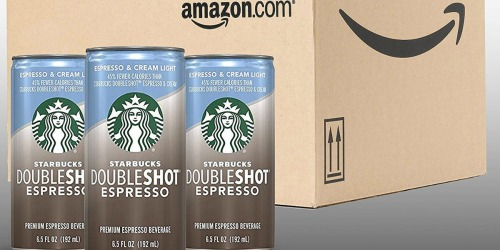 Starbucks Doubleshot Espresso + Cream Light 12-Pack Only $11.53 Shipped at Amazon