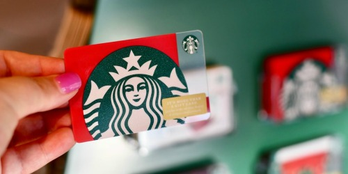 Free $5 Starbucks Gift Card for Verizon Up Rewards Members (No Credits Needed)