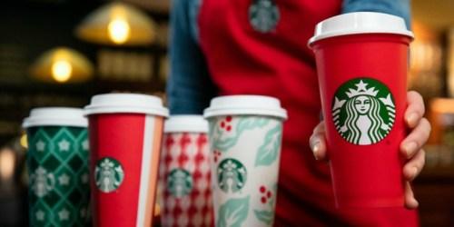 FREE $5 Starbucks Bonus Gift Card w/ $10+ Card Purchase Using Masterpass