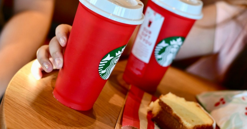 Starbucks Red Holiday Reusable Cups