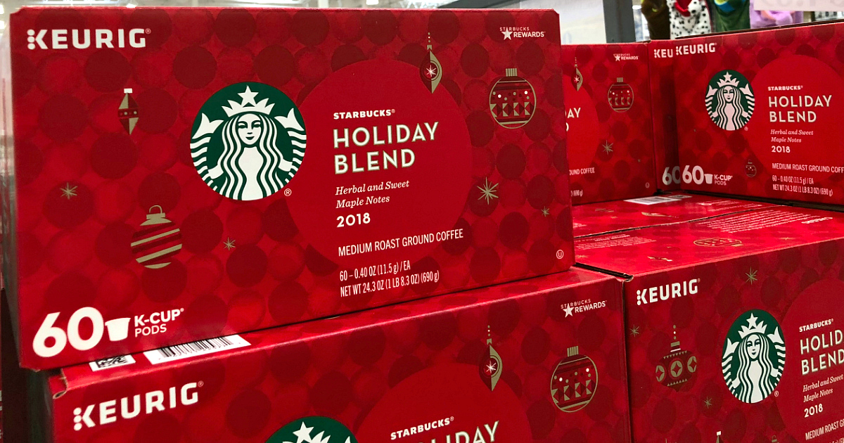 costco holiday booklet black friday 2018 deals – Starbucks Holiday K-Cups at Costco