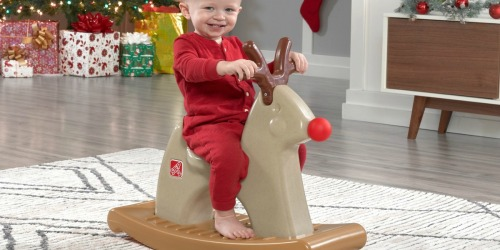 Step2 Rudolph The Rocking Reindeer Only $27.99 Shipped (Regularly $35)