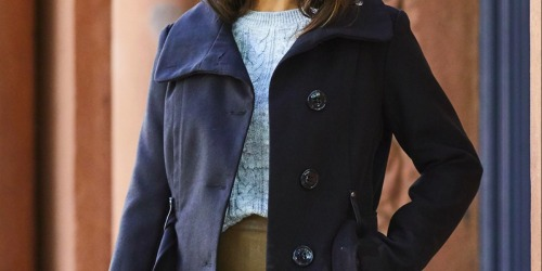 Steve Madden Women's Belted Peacoats Only $59.79 at Zulily (Regularly $250)
