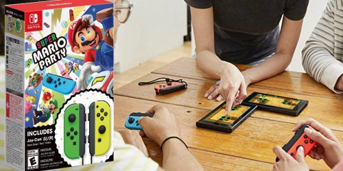 Super Mario Party Nintendo Switch Bundle Only $99.99 Shipped (In-Stock to Pre-Order NOW)