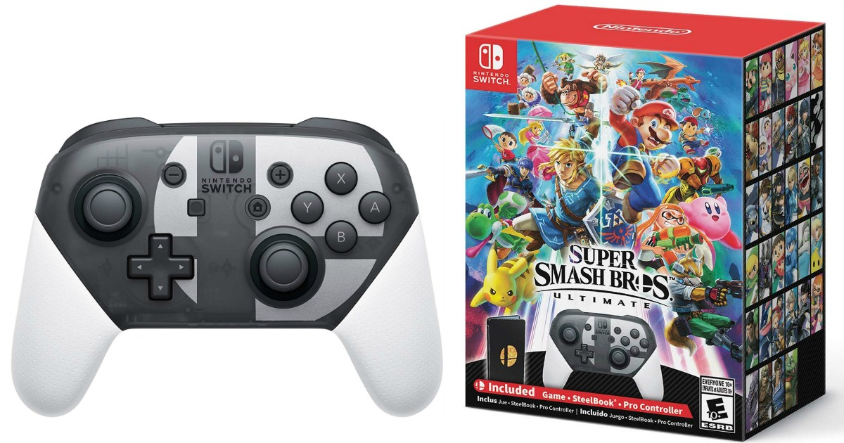 Pre Order Super Smash Bros Ultimate Special Edition For Nintendo