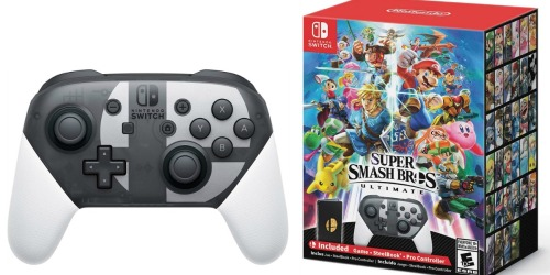 Pre-Order Super Smash Bros. Ultimate Special Edition For Nintendo Switch as Low as $137.15
