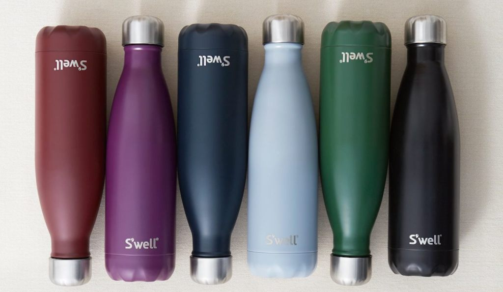 s'well-water-bottles-drinkware-travelers-gift-guide