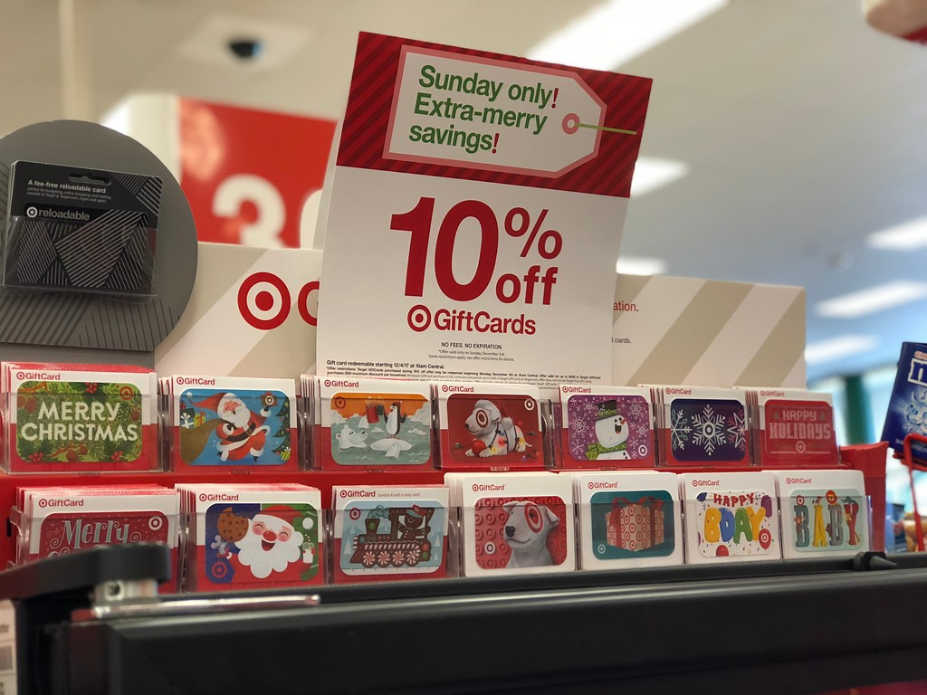 6f6cb781b7d0e This 10% off gift card offer will not include Target VISA Gift Cards