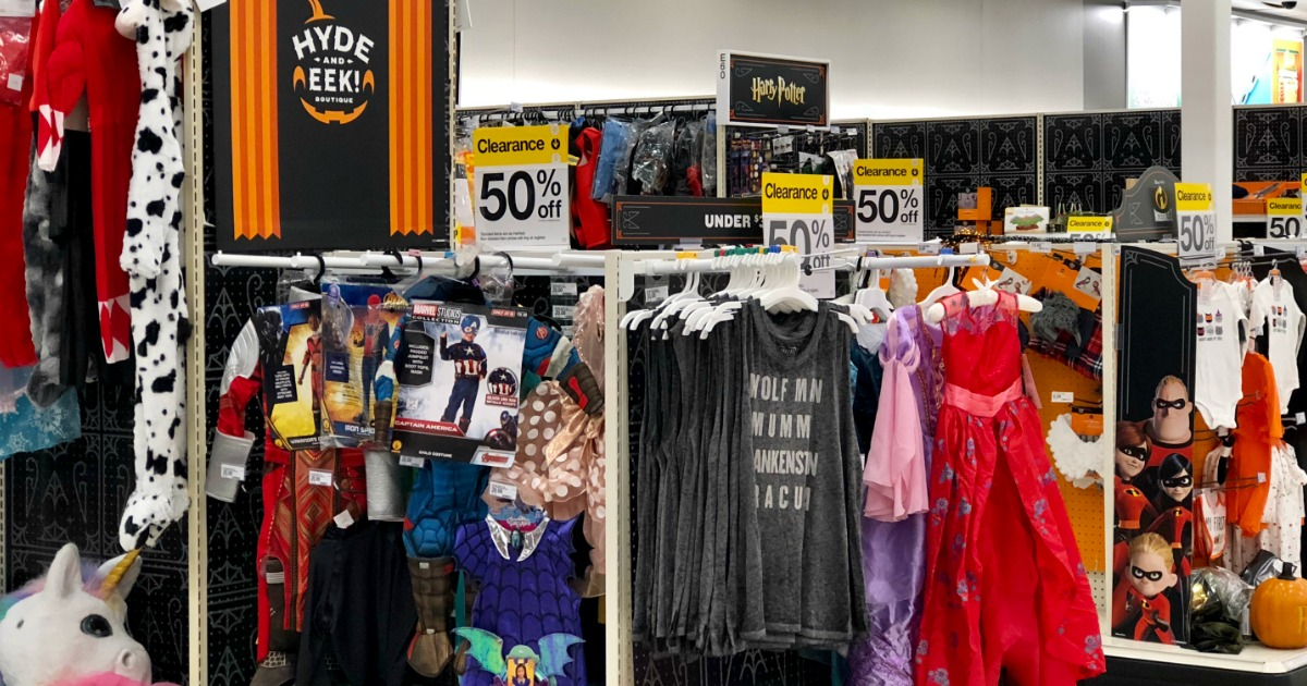 50 off halloween clearance at target including costumes for Online decor stores