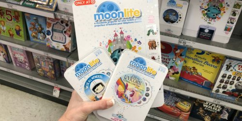 25% Off Moonlite Story Projectors at Target Today Only (Project Story Books onto the Wall!)