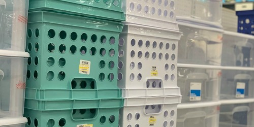 Room Essential Storage Bins as Low as $1.48 at Target