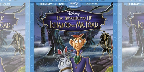Amazon: Disney's Adventures of Ichabod & Mr. Toad Special Edition Blu-ray Combo Pack Just $7 Shipped