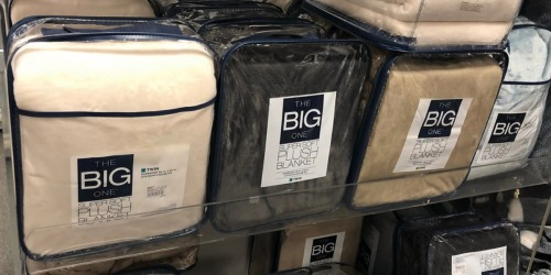 Kohl's The Big One Supersoft Plush Blankets Only $15 (Regularly up to $90) –  Valid on ALL Sizes