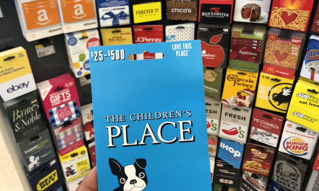 The Children's Place gift cards