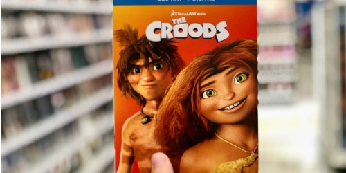 The Croods Blu-ray + Digital Movie Only $3.40 Shipped at Target.com & More