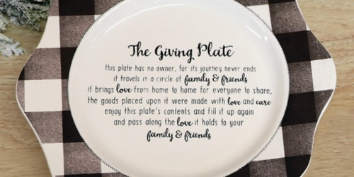 The Giving Plate Only $9.99 on Zulily (Regularly $26+) – Promotes Paying it Forward