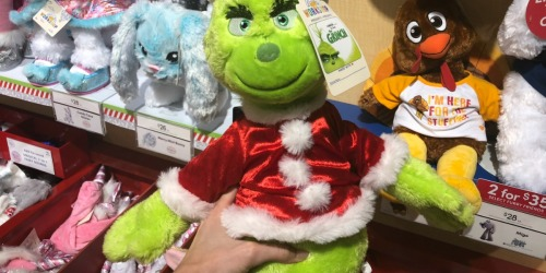 Build-A-Bear Furry Friends Buy One, Get One for ONLY $6 (The Grinch, Unicorn & More)