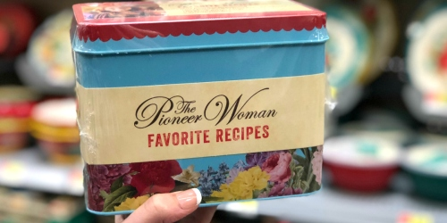 The Pioneer Woman Favorite Recipes Tin Now Available at Walmart for $10.98 ($24.99 Value)