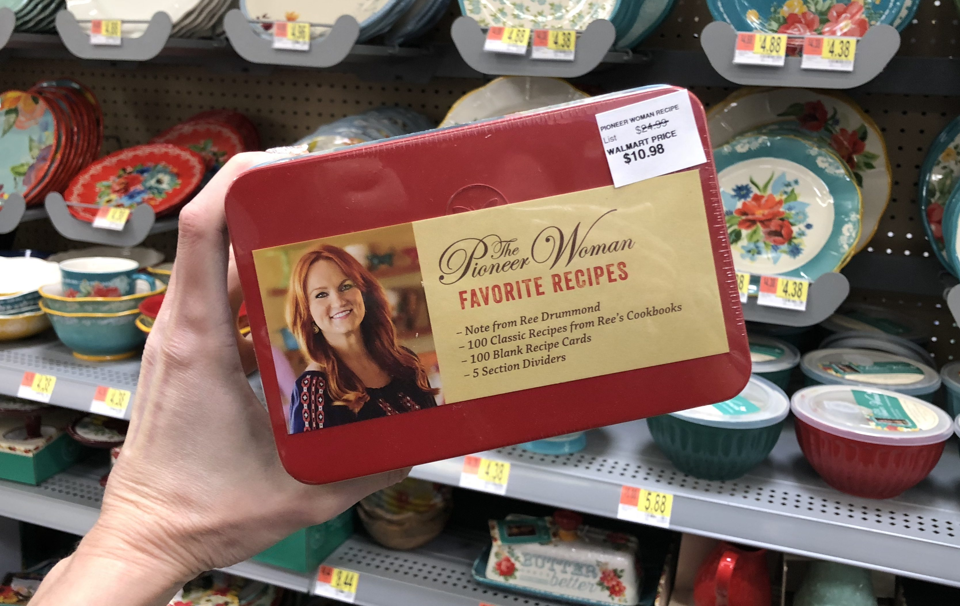 The Pioneer Woman Favorite Recipes Tin