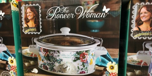 The Pioneer Woman 6-Quart Portable Slow Cooker Just $19.99 on Walmart.com