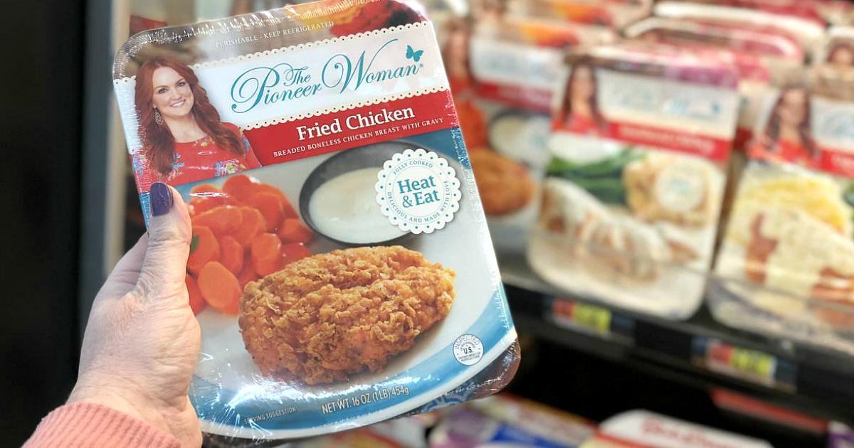 The Pioneer Woman prepared meal at Walmart
