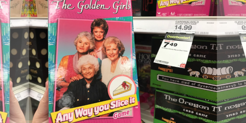 50% Off Board Games at Target & Amazon (The Golden Girls Card Game & More)