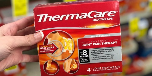 ThermaCare Heatwraps 4-Count Box Only $1.59 After CVS Rewards