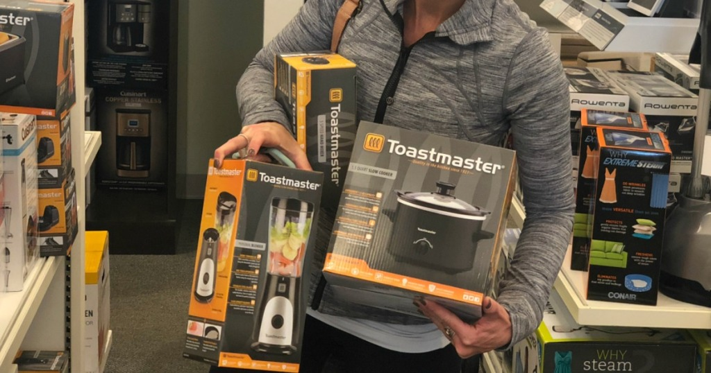 Kohl's Black Friday Deals - Collin with Toastmaster Kitchen Appliances