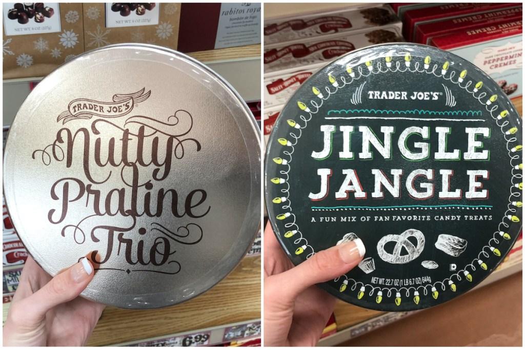 Trader Joes Christmas Tins