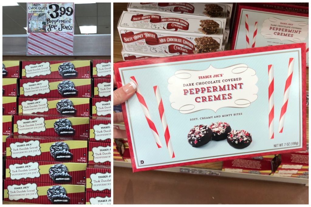 Trader Joes Holiday snacks