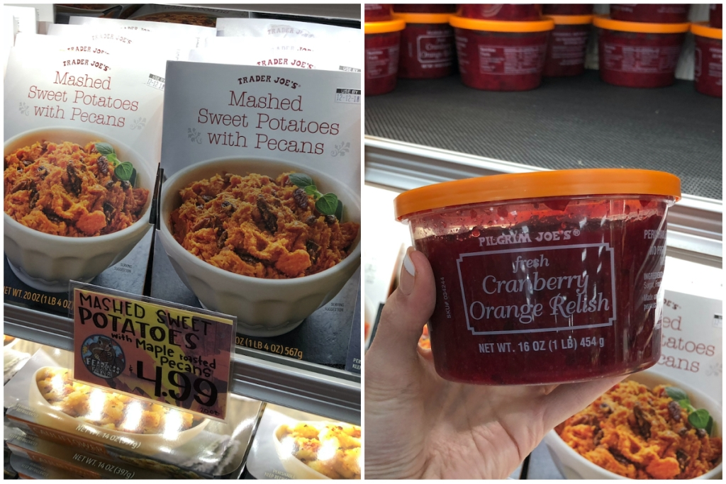 Trader Joes Thanksgiving foods