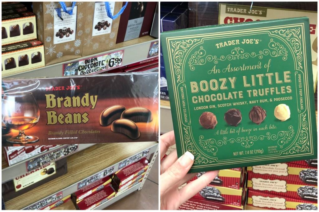 Trader Joes alcoholic chocolates