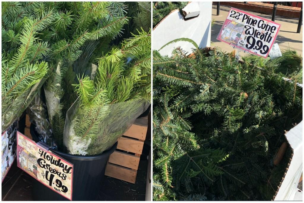 Trader Joes holiday greens